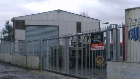Warehouse for sale on Newtownbabe, Dundalk, Co. Louth