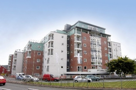 2 bed Flat to rent in Tower Court, No 1 London Road, Newcastle Under Lyme