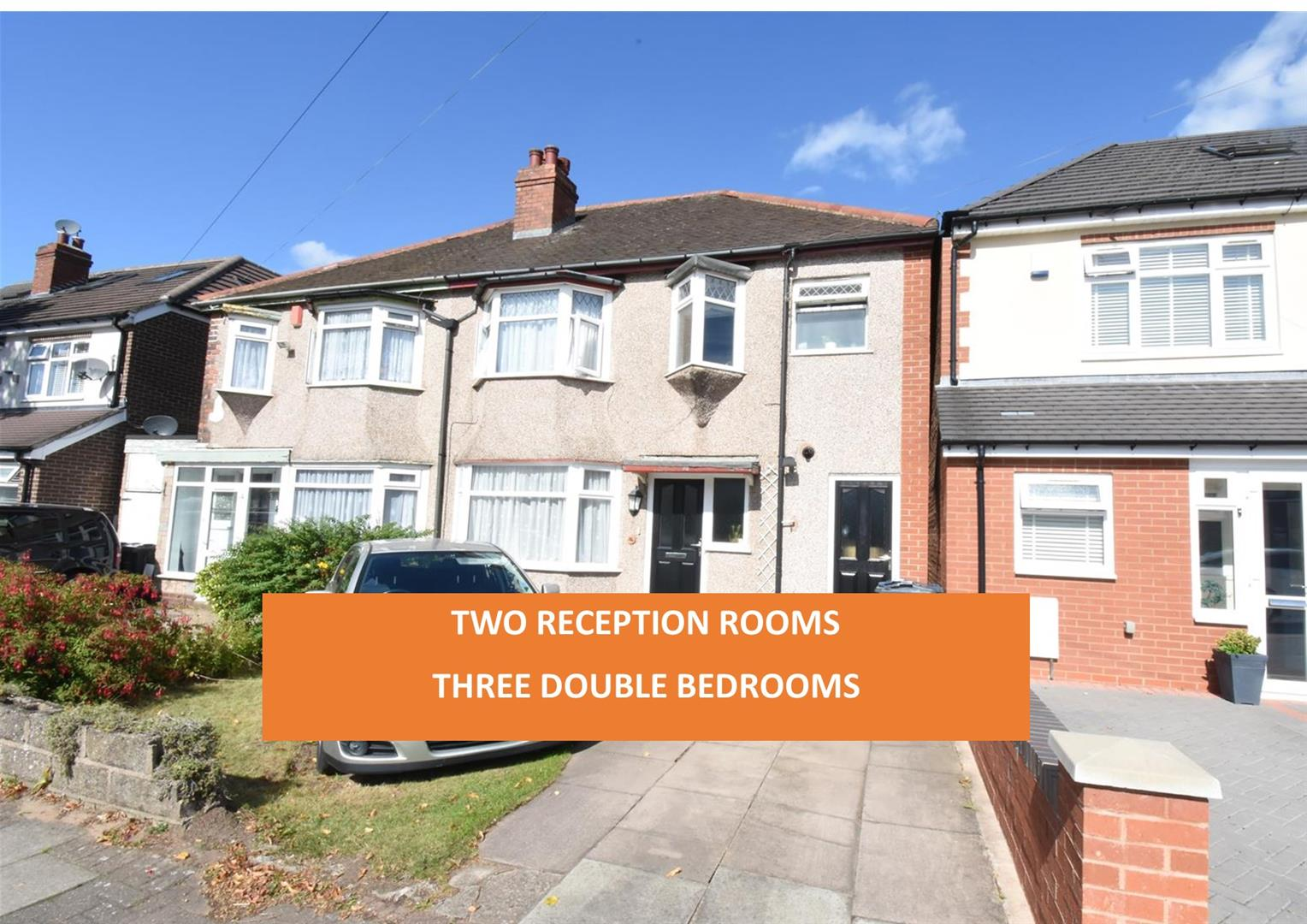 3 bed house for sale in Morris Road, Birmingham 1