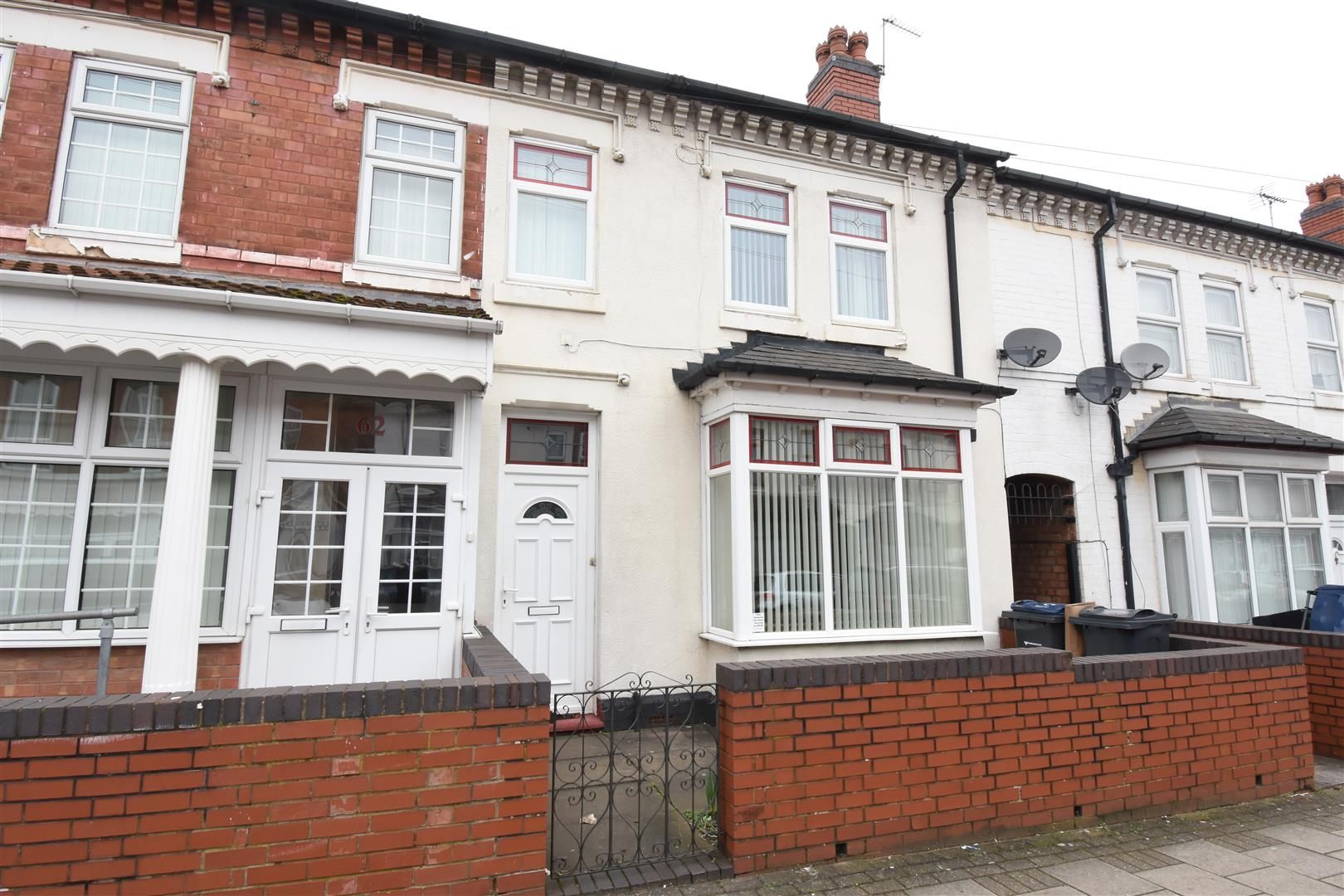 3 bed house for sale in Edmund Road, Alum Rock, Birmingham - Property Image 1