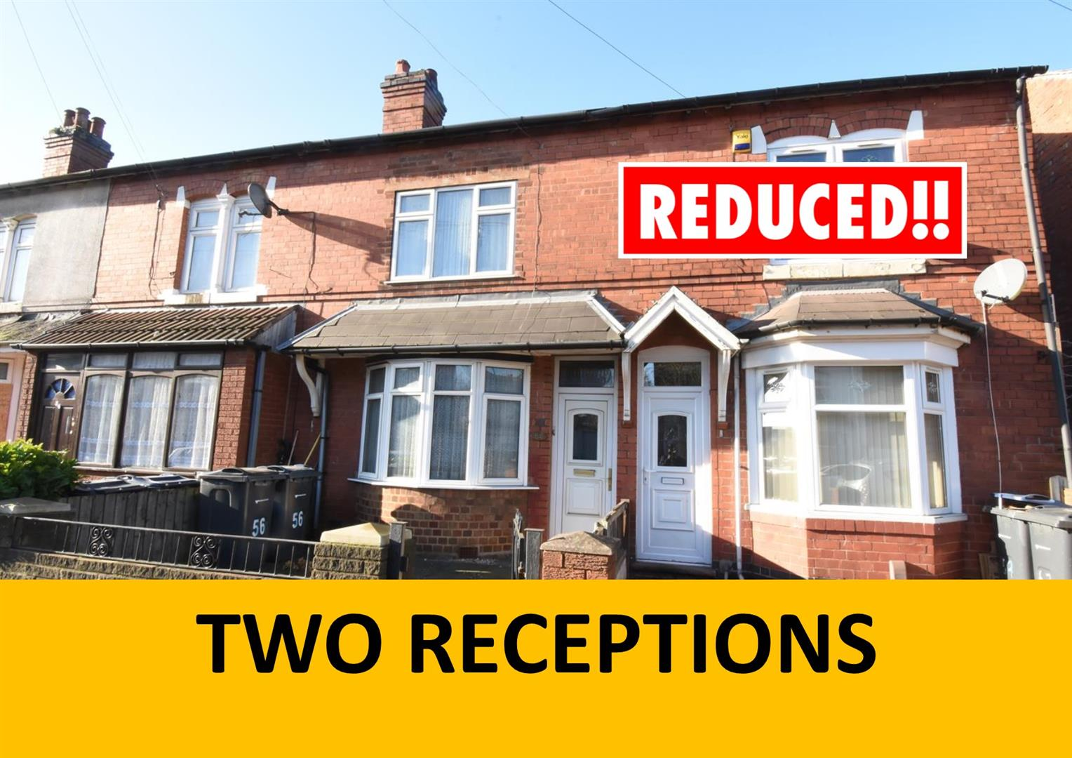 2 bed  for sale in Sladefield Road, Birmingham, B8