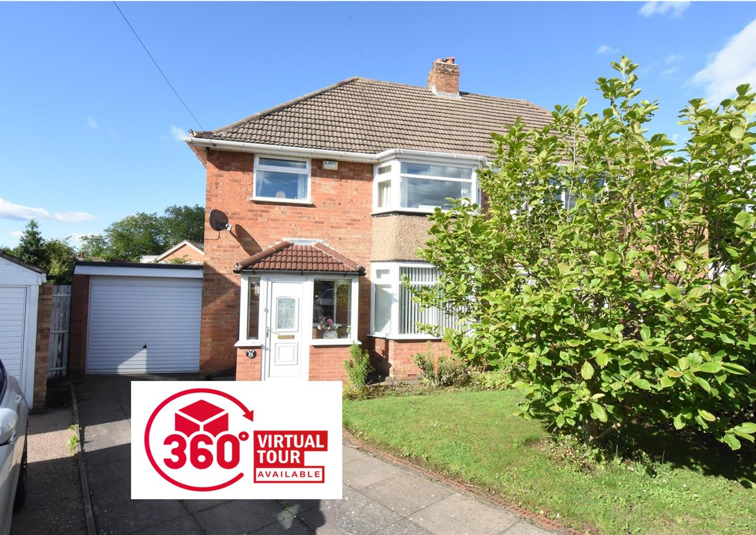 3 bed house for sale in Clayton Drive, Castle Bromwich, Birmingham, B36