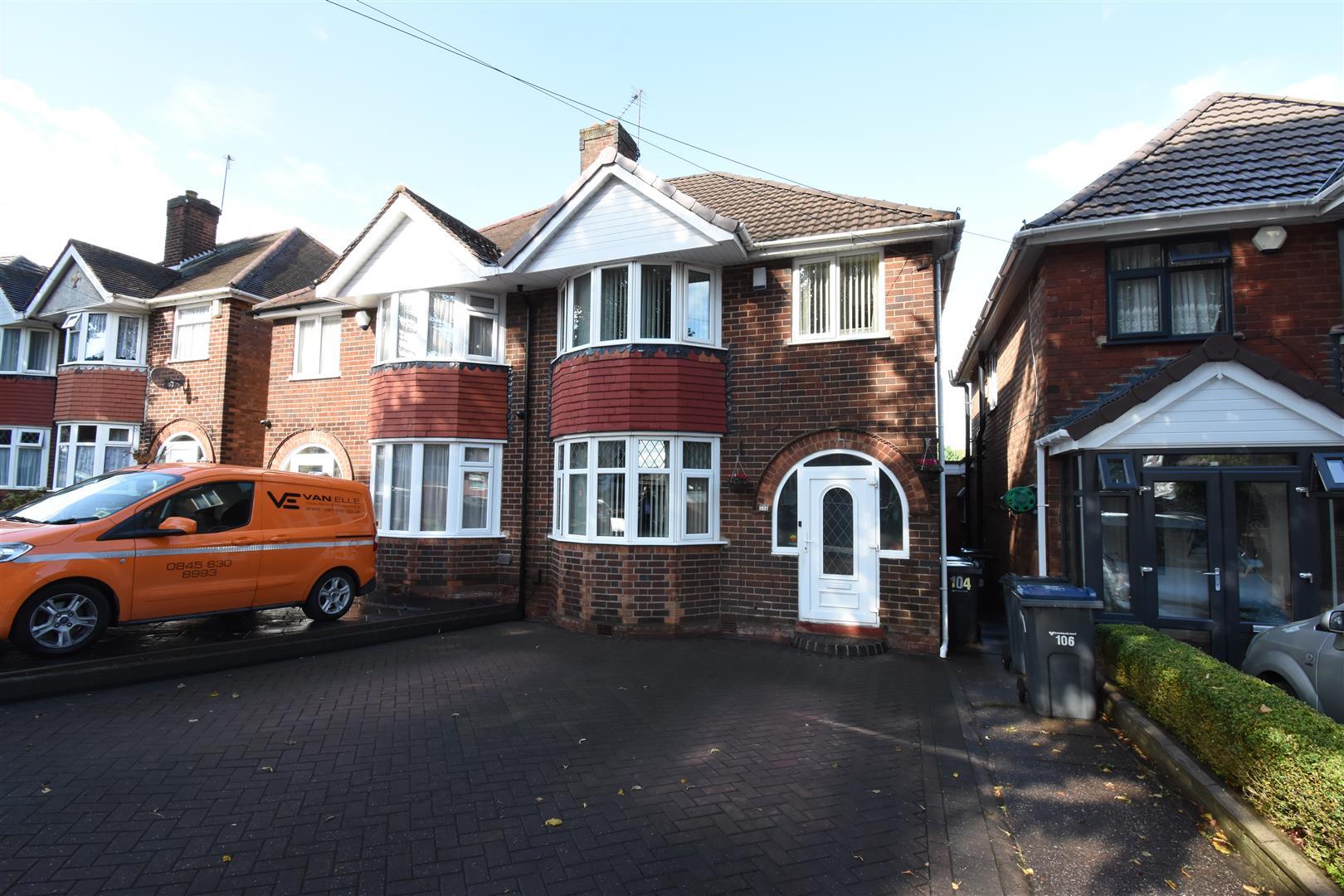 3 bed house for sale in Beaufort Avenue, Birmingham, B34