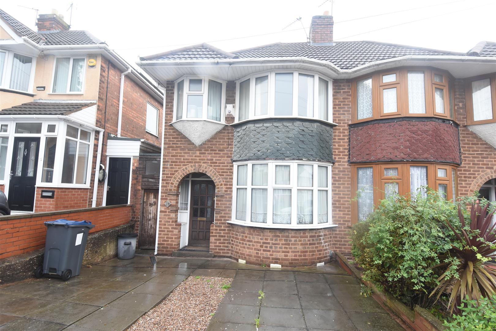 3 bed house for sale in Haycroft Avenue, Birmingham, B8