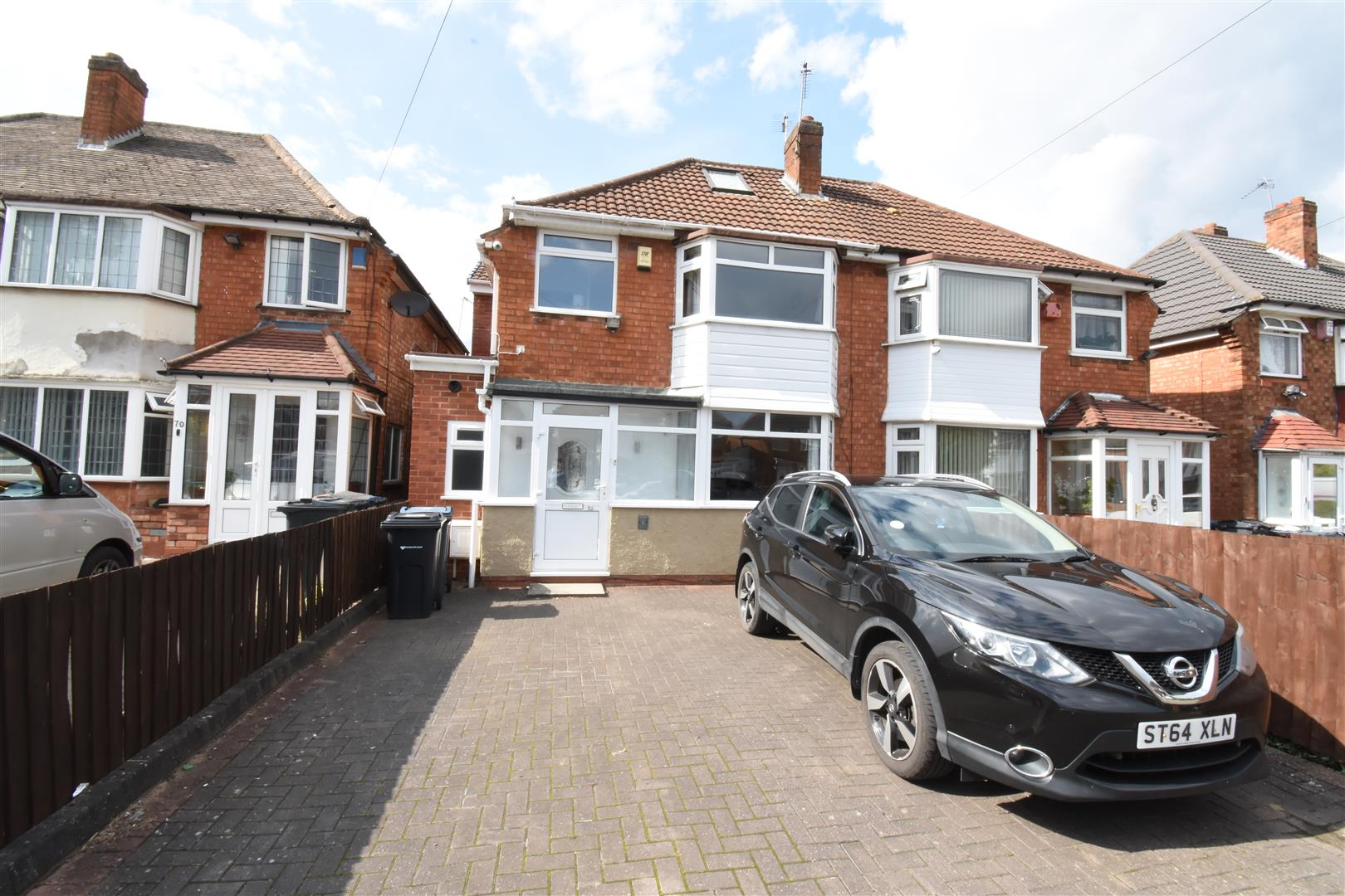 3 bed house for sale in Falmouth Road, Hodge Hill, Birmingham, B34