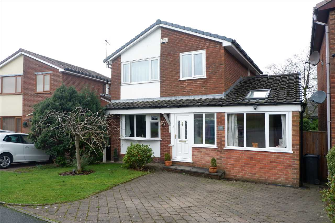 3 bed detached to rent in New Court Drive, Bolton, BL7