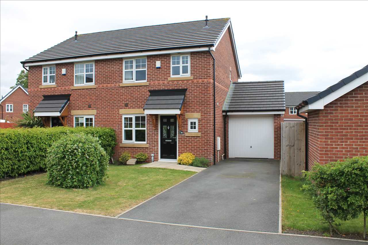 3 bed semi-detached for sale in Dukes Park Drive, Chorley - Property Image 1