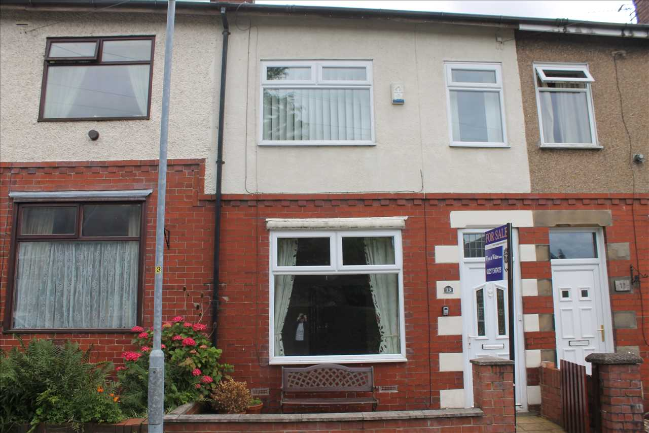 2 bed terraced for sale in Woodville Road, Heath Charnock, Chorley, PR6