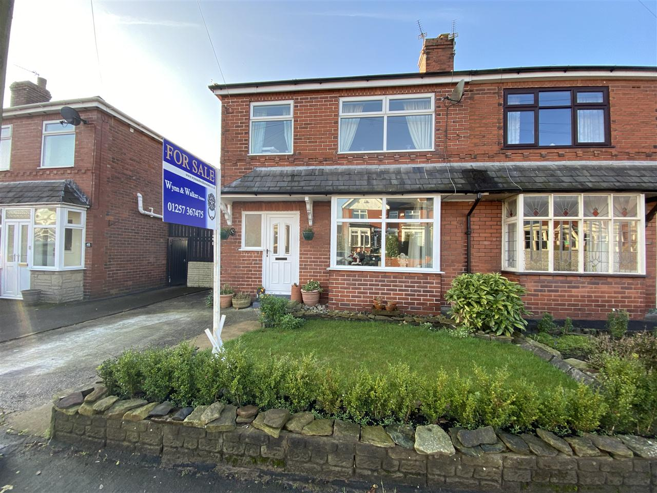3 bed semi-detached for sale in Chorley Road, Heath Charnock, PR6
