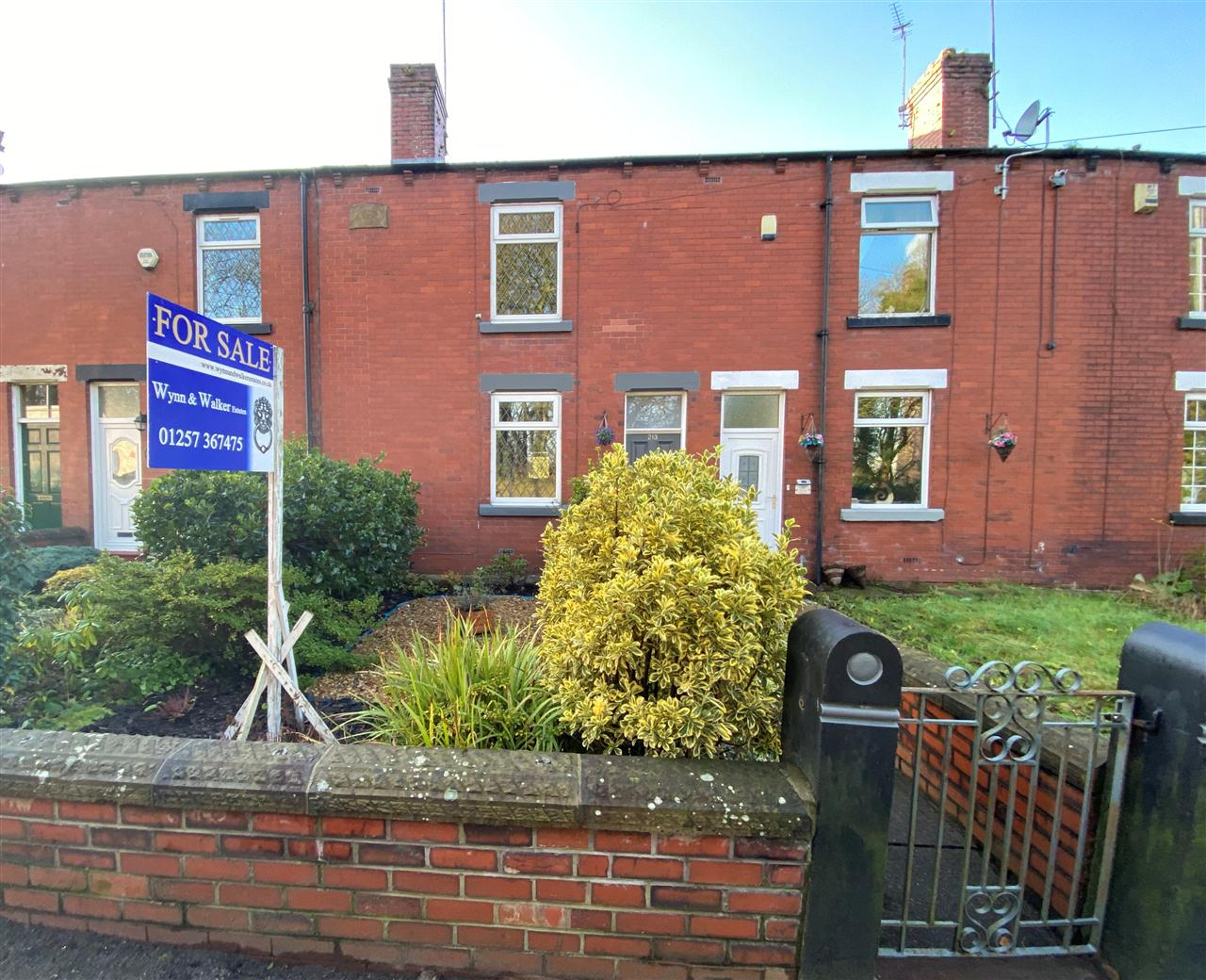 2 bed terraced for sale in Chorley Road, Adlington, BL6