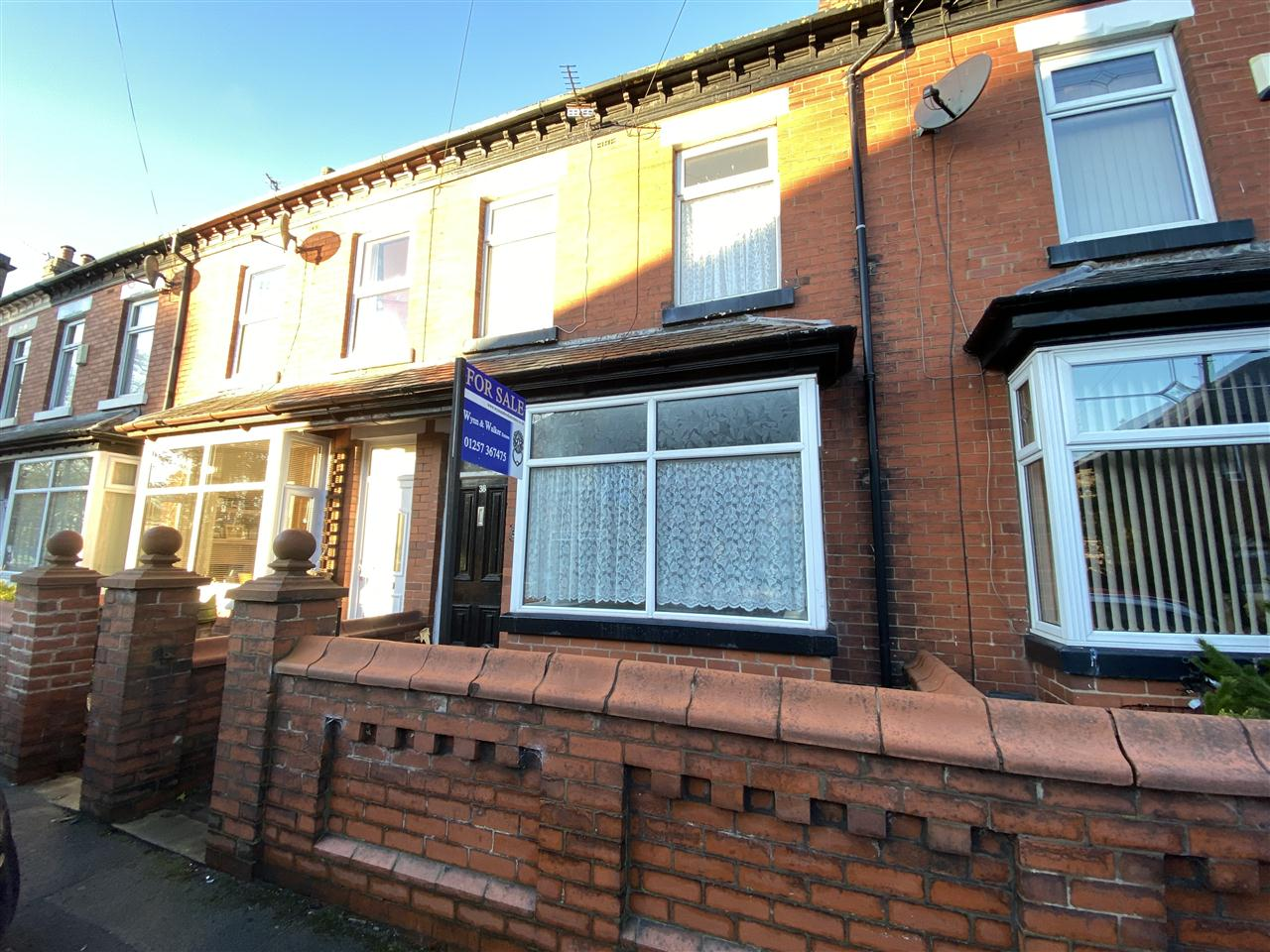 3 bed terraced for sale in Chapel Street, Adlington - Property Image 1