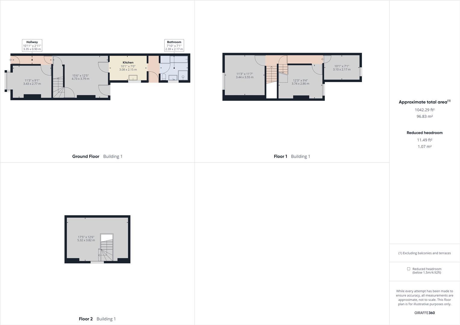 3 bed  for sale in Alderson Road, Alum Rock, Birmingham - Property Floorplan