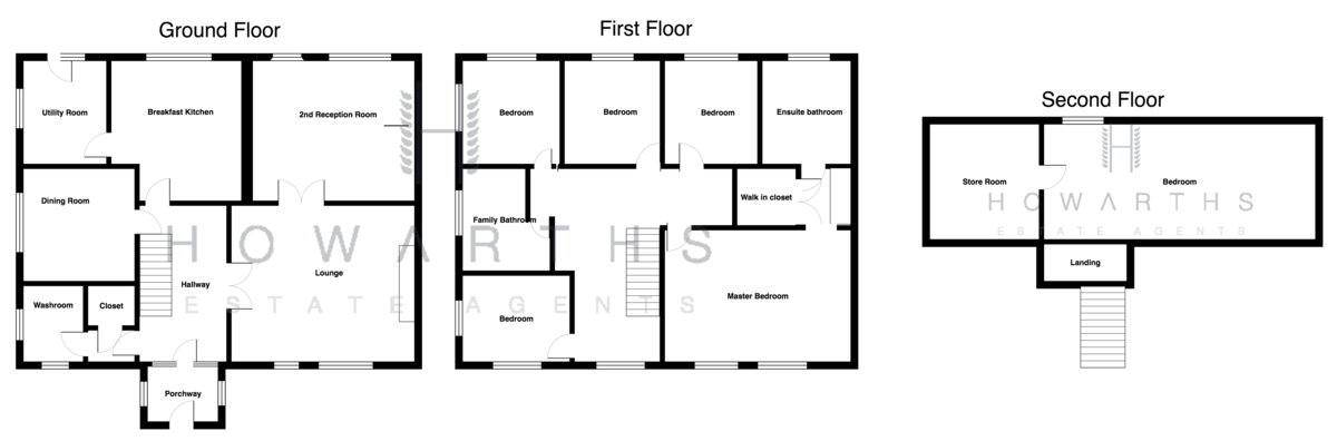 6 bed for sale on Turn Hill Barn, Water - Property Floorplan