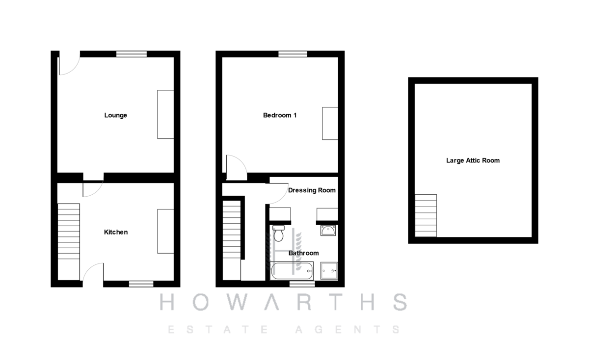 2 bed House for sale on Ivy Grove, Rawtenstall - Property Floorplan