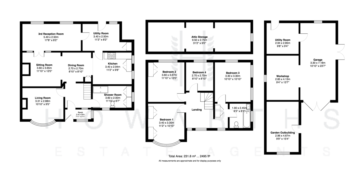 4 bed House for sale on Bent Estate - Property Floorplan