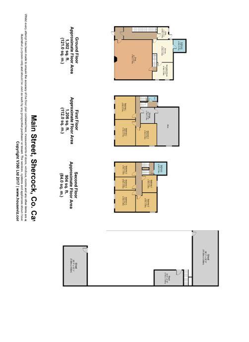 6 bed House for sale on Main Street, Shercock, Co. Cavan - Property Floorplan