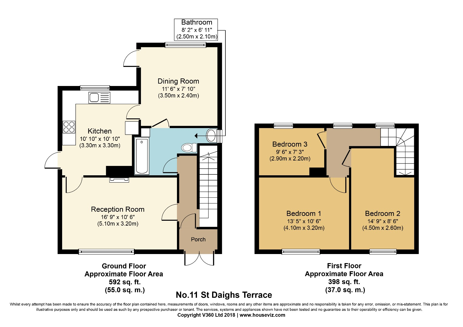 3 bed Semi-Detached for sale on No.11 St. Daighs Terrace, Inniskeen, Co. Monaghan - Property Floorplan