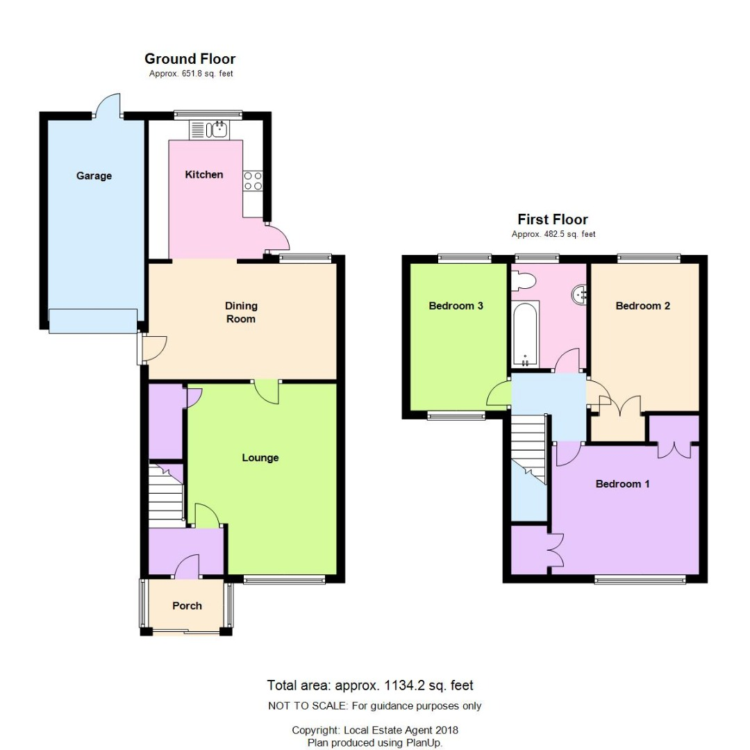 3 bed House for sale on Mead End, Biggleswade - Property Floorplan