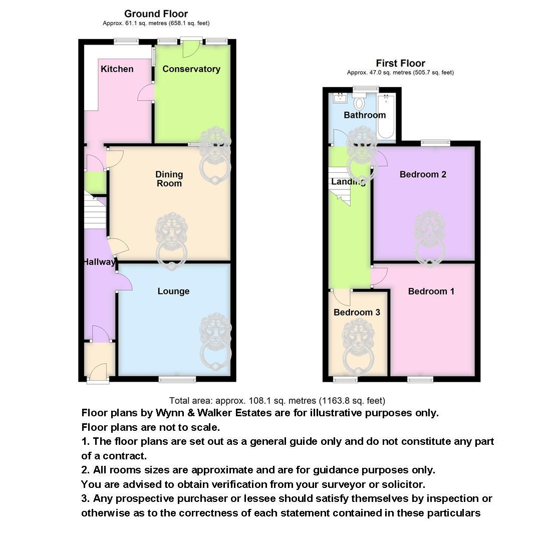 3 bed terraced for sale in Church Street, Adlington - Property Floorplan