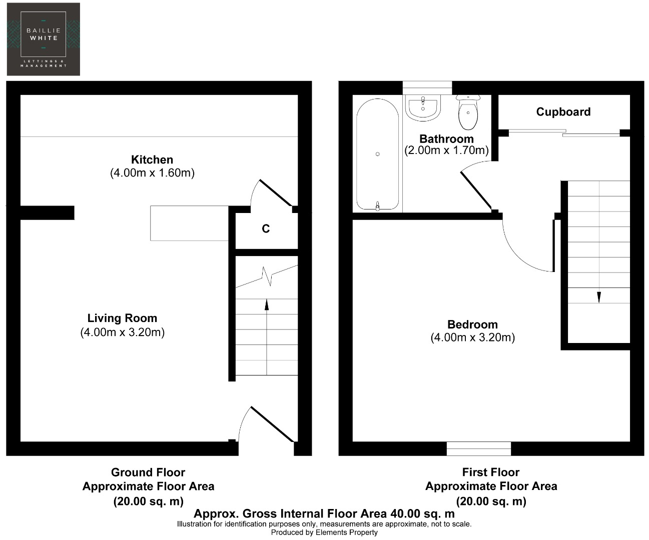 1 bed house to rent in Melville Heath, South Woodham Ferrers - Property Floorplan